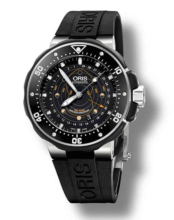 542e2665d42 Oris ProDiver Pointer Moon - front ...