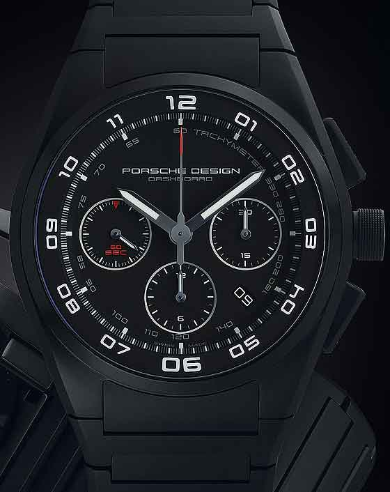 Porsche Design P'6620 Dashboard Chrono - CU dial