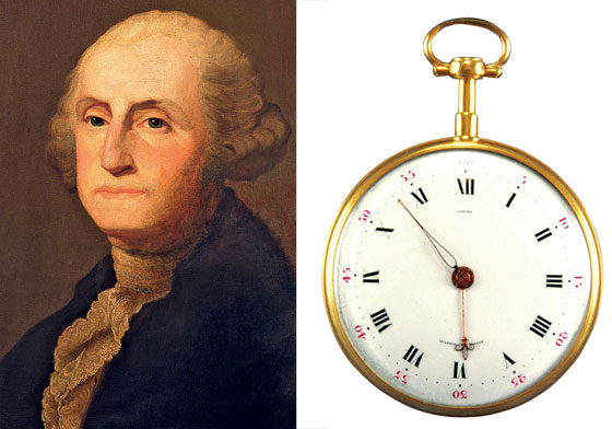 George Washington and his Lepine pocketwatch