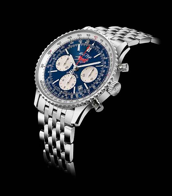 Breitling Honor Flight Navitimer - Side