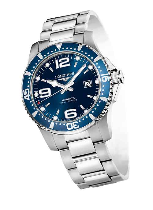 entry level luxury 5 mechanical watches under 000 › watchtime longines hydroconquest blue dial