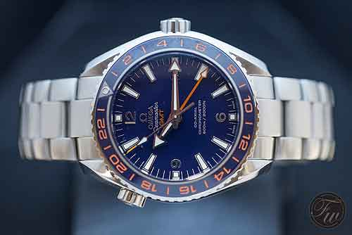 Omega replica Seamaster Planet Ocean GMT GoodPlanet