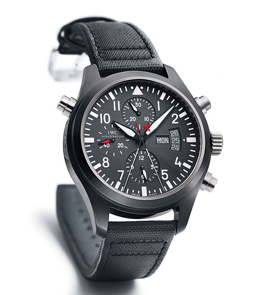 Awesome IWC Pilotu0027s Watch Double Chronograph