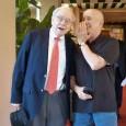 Outside our Inside Basel.Geneva event in LA, reader Bob Newton (right) ran into Warren Buffet. Bob is wearing a 1993 Rolex Two-Tone 36 mm.