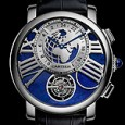 Cartier RDC Earth & Moon