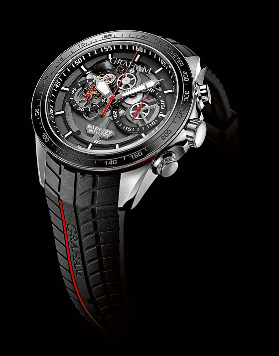 Graham Silverstone RS Skeleton - red