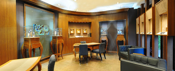 Bovet 1822 boutique in het Ritz-Carlton New York, Central Park South