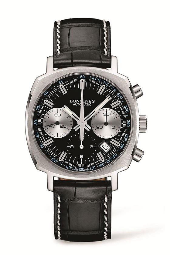 Longines Heritage 1973 - black dial