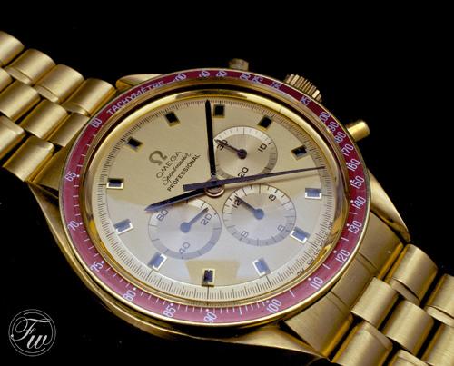 Nixon's Omega Speedmaster watch