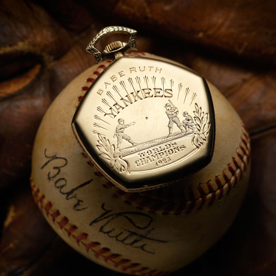 Babe Ruth's Elgin pocketwatch