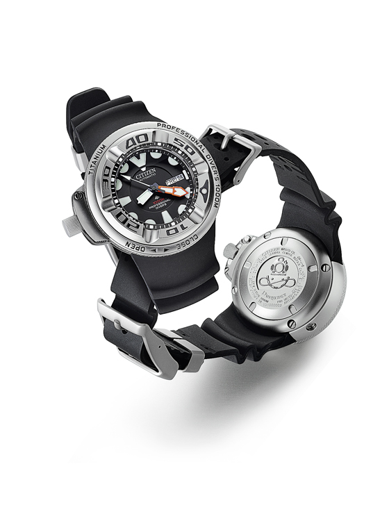 Citizen Promaster 1000M Professional Diver - front-back