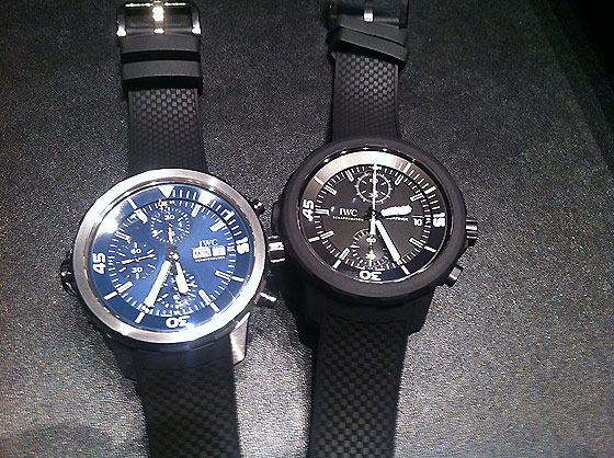 IWC Aquatimer Limited Editions