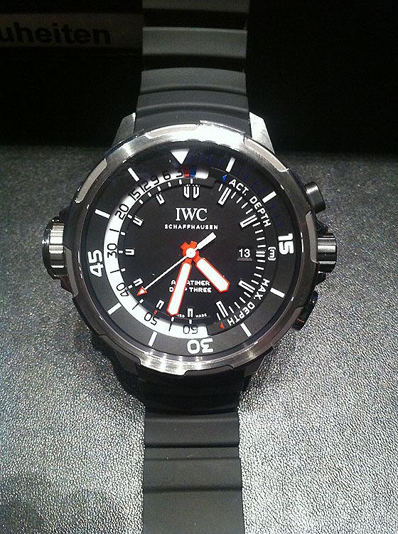 IWC Aquatimer Deep Three