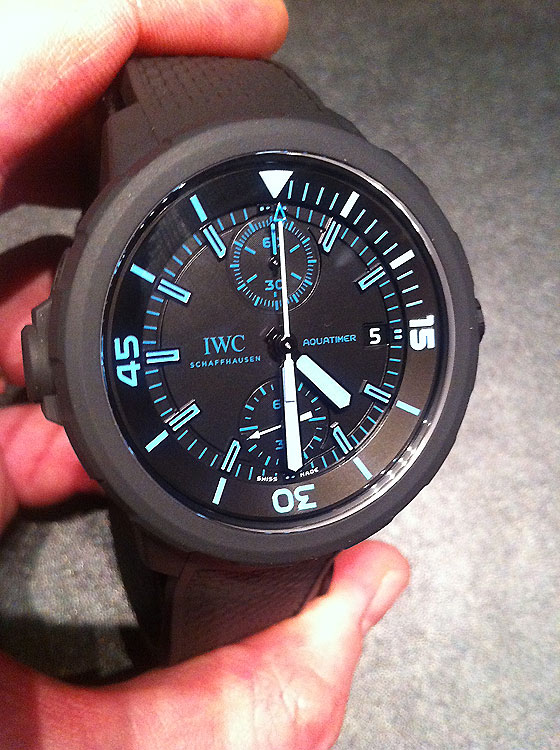 IWC Aquatimer 50 Years of Science