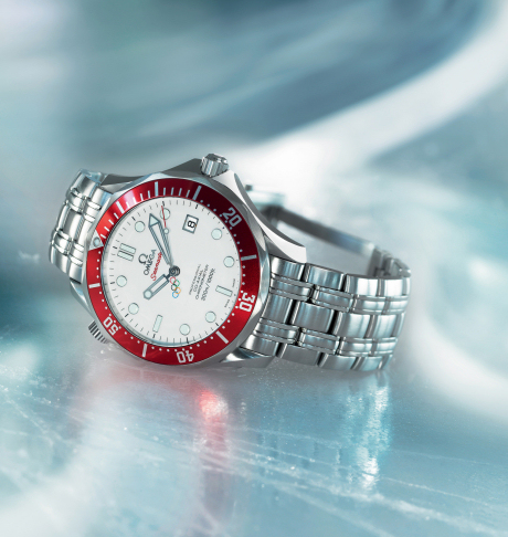 Omega's Limited Edition Seamaster for the Vancouver Winter Olympics in 2010