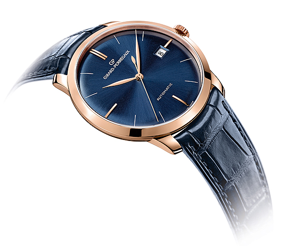 Ticking The Blues 2 New Girard Perregaux Watches With Blue Dials