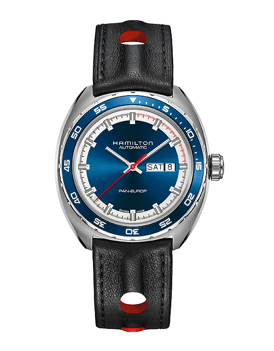 Hamilton Pan Europ - leather