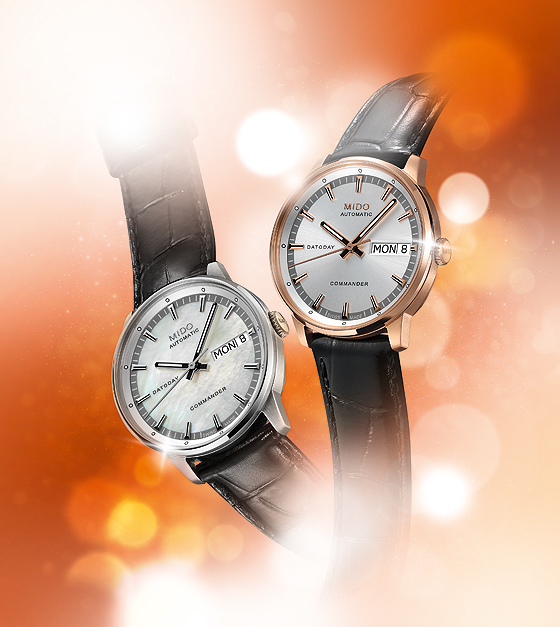 Mido Commander Lady watches