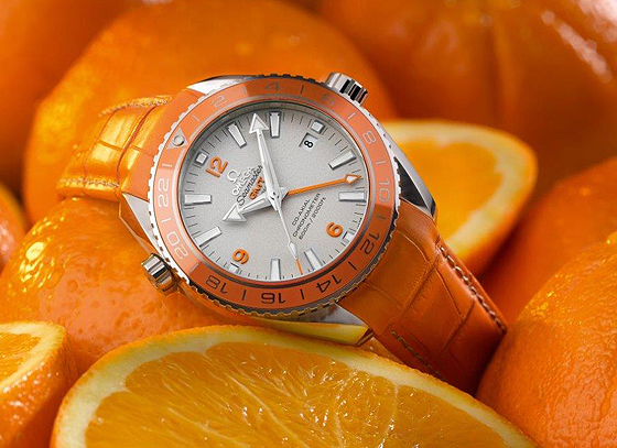 OMEGA Seamaster PO Orange Ceramic