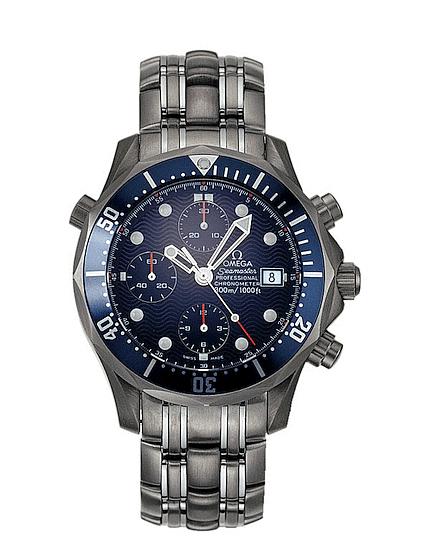 Omega Seamaster Professional 300M Chronograph Diver Titanium