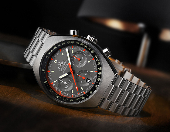 Omega Speedmaster Mark II orange