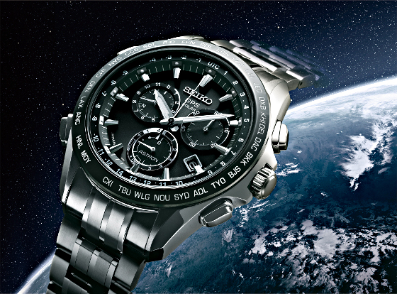 Showing at WatchTime IBG 2014  The New Seiko Astron GPS Solar ... 0748141318e5