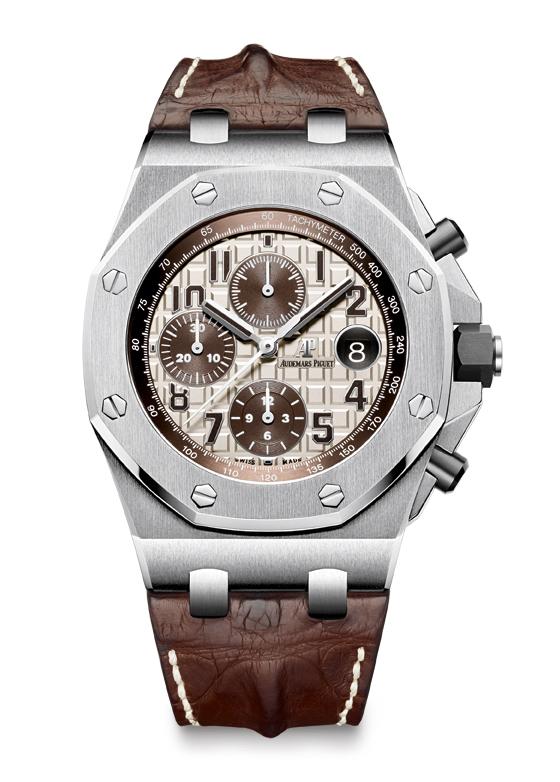 Audemars Piguet Royal Oak Offshore Chronograph ivory/brown