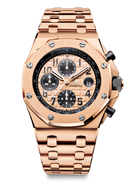 Audemars Piguet Royal Oak Offshore Chronograph gold/bracelet