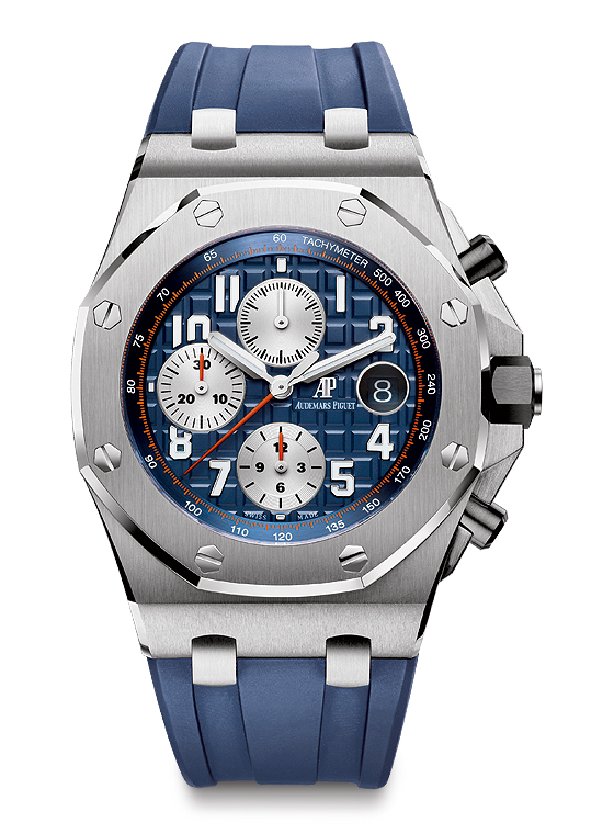 Audemars Piguet Royal Oak Offshore Chronograph - blue/blue