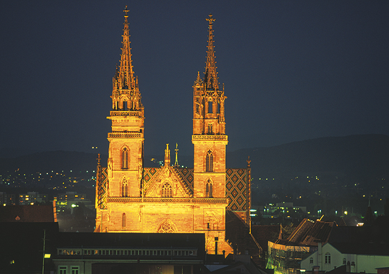 Basel Muenster Cathedral