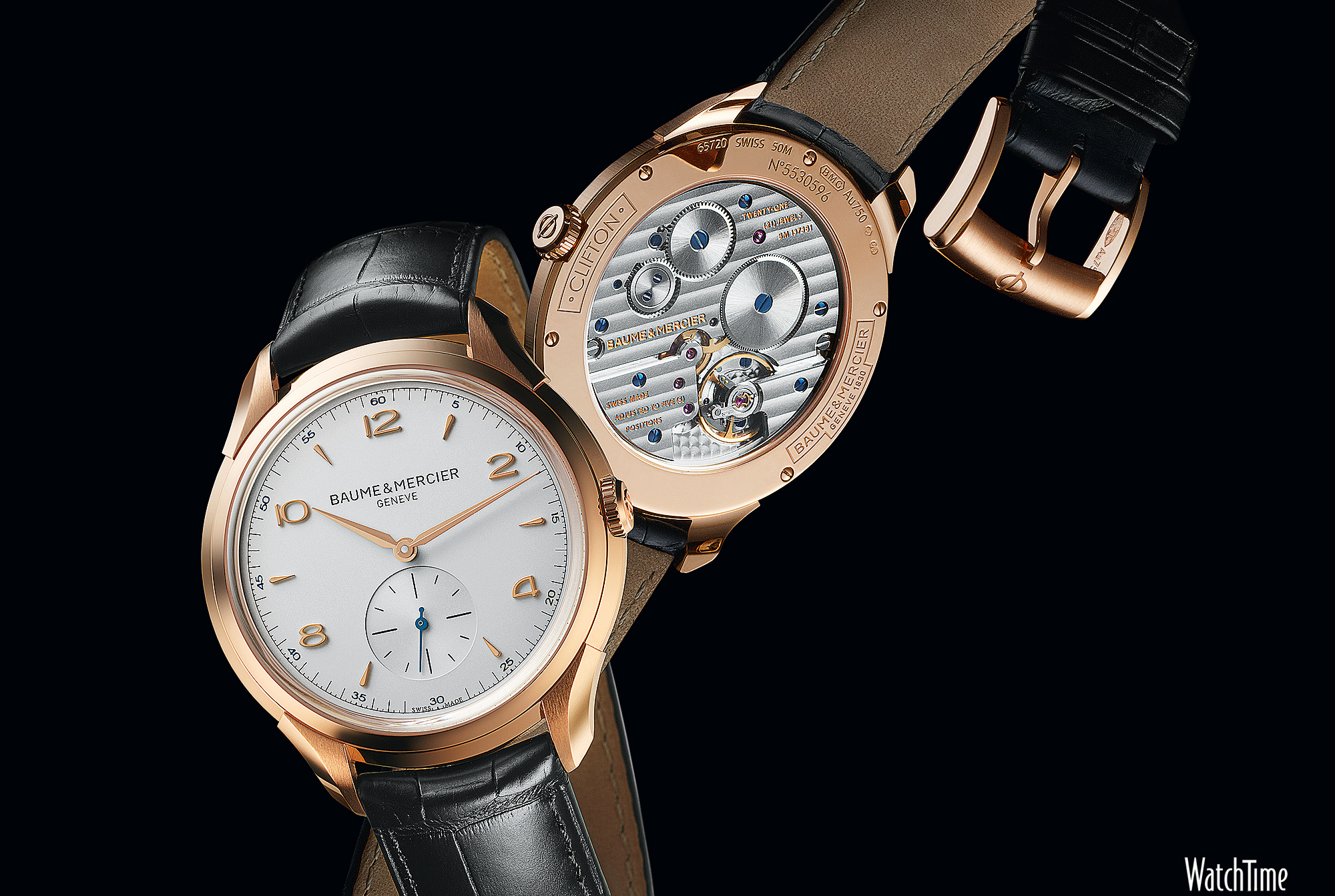 Luxury watches wallpaper - Baume Mercier Clifton 1830