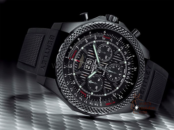 Breitling for Bentley 6.75 Midnight Carbon - reclining