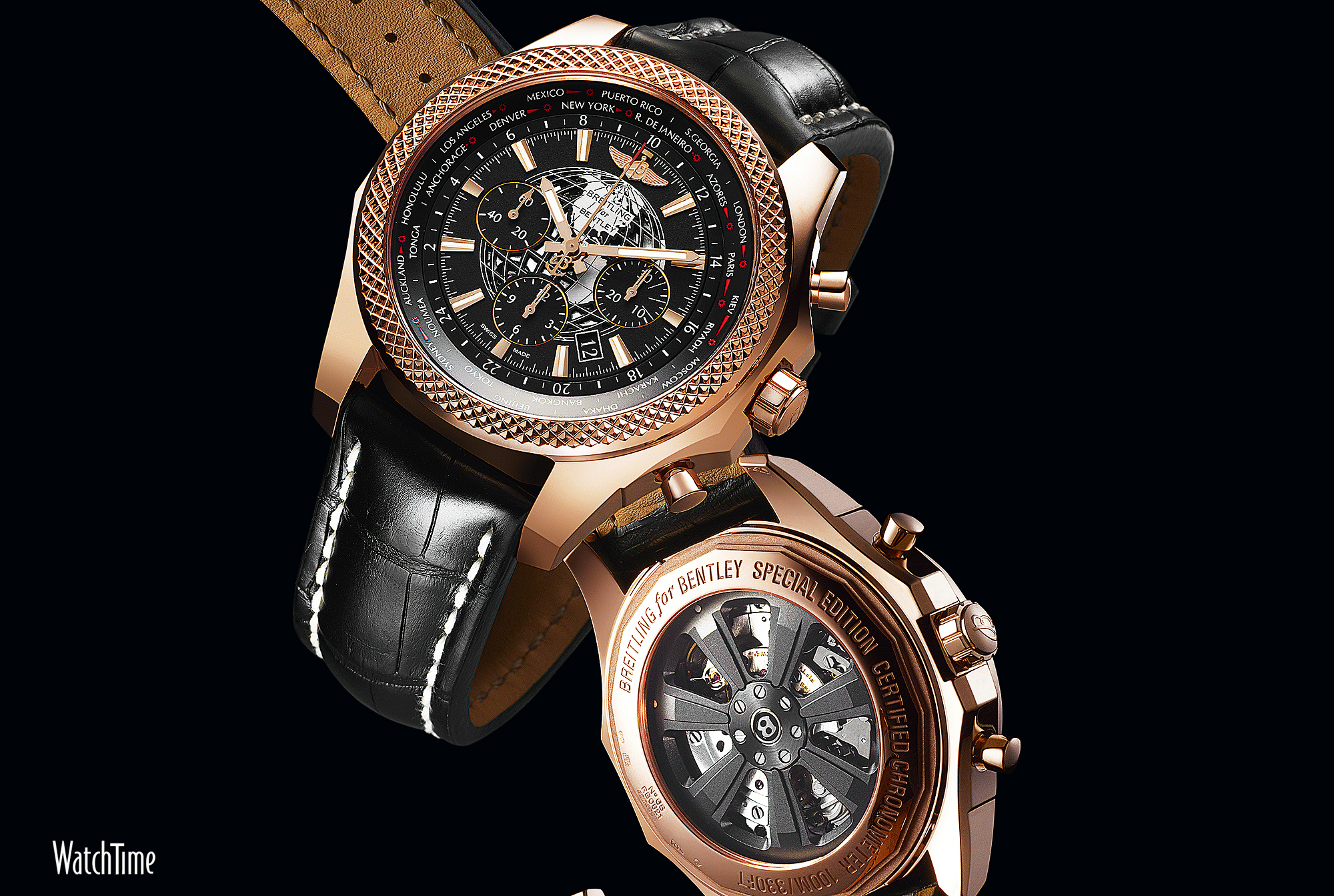 Luxury watches wallpaper - Breitling For Bentley B05 Unitime