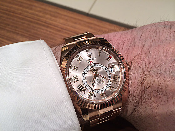 Baselworld 2014 3 New Rolex Sky,Dwellers (Updated with Live