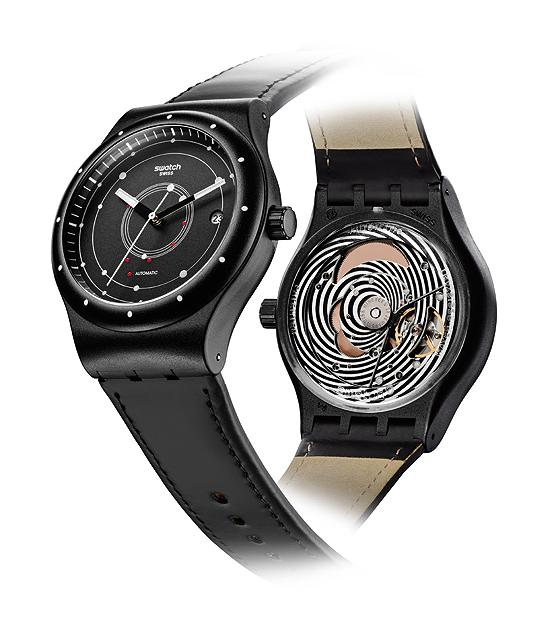 Swatch Sistem51 - black