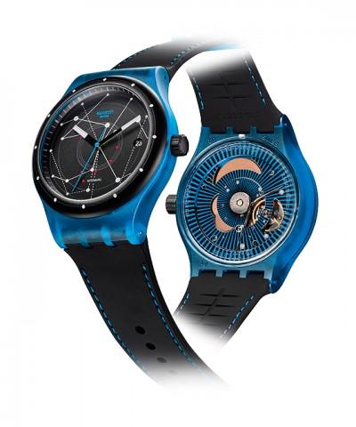 Swatch Sistem51 - blue