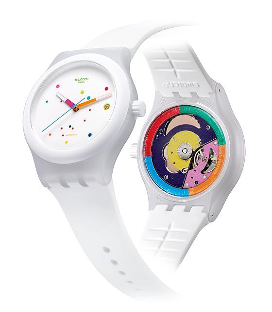 Swatch Sistem51 - white