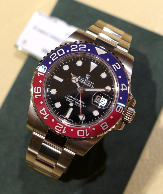 Baselworld 2014 New Rolex GMT,Master II with \u201cPepsi\u201d Bezel