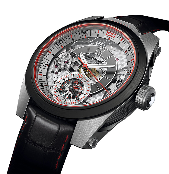 Montblanc TimeWalker Chronograph 100 - angle