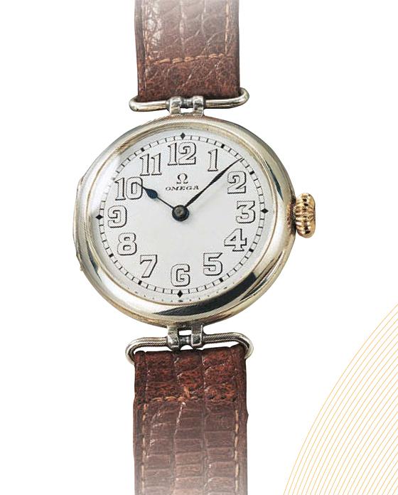 Omega 1st Wristwatch