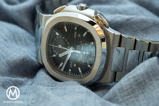 Hands-On Review: Patek Philippe Nautilus Travel Time Chronograph