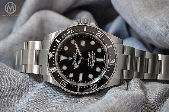 Rolex Sea Dweller 4000 Wrist Shot Rolex Sea-dweller 4000 Live