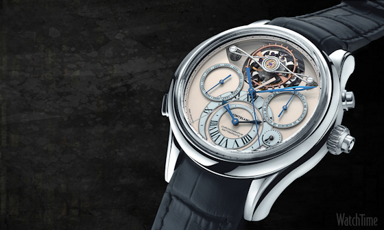 Montblanc Collection Villeret 1858 Exo Tourbillon