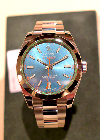 Rolex Oyster Perpetual Milgauss - blue