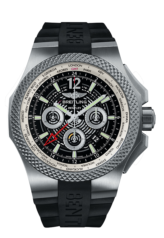 Breitling for Bentley GMT Light Body B04 - front