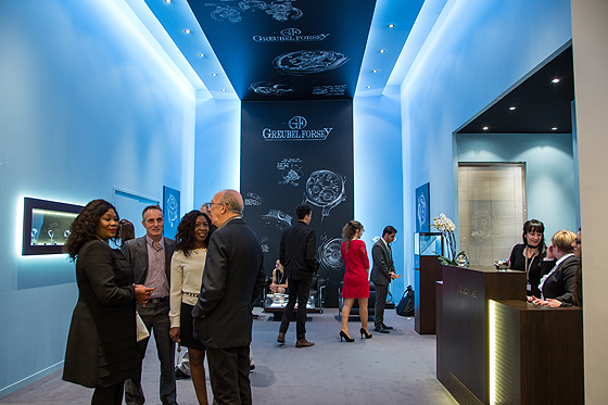 Greubel Forsey SIHH booth