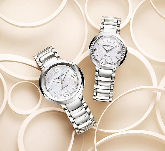 Baume & Mercier Promesse Ref. 10162 and 10184