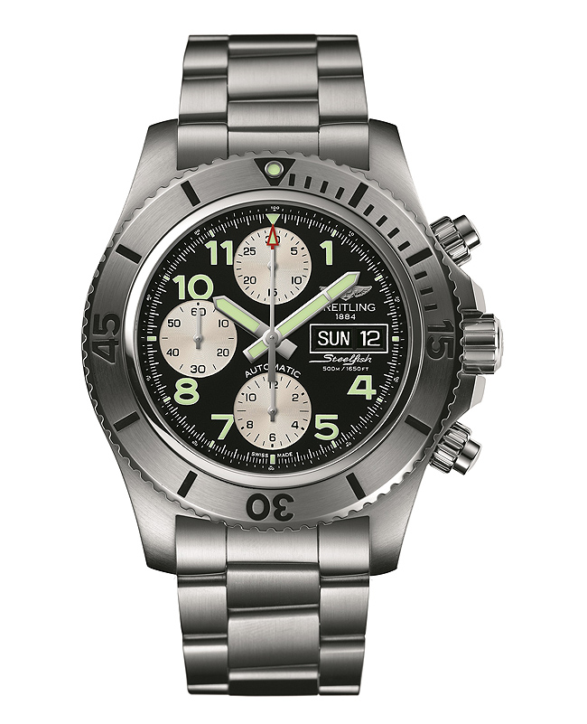 Breitling Superocean Chronograph Steelfish - front