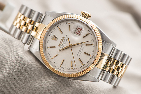 c71d644a5eddd Fake Rolex Datejust - German writing on dial. A very common watch with ...