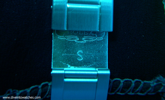 Rolex Sea-Dweller 4000 Clasp Extension - Submerged